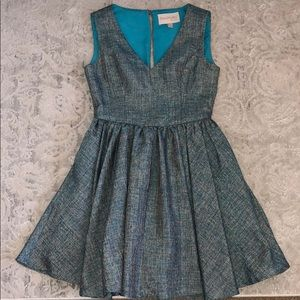 Keepsake the Label Teal Jane Dress